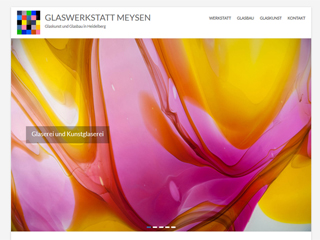 Website Glaswerkstatt Meysen