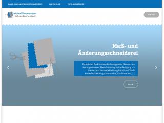 Website Schneiderei Wiedenmann